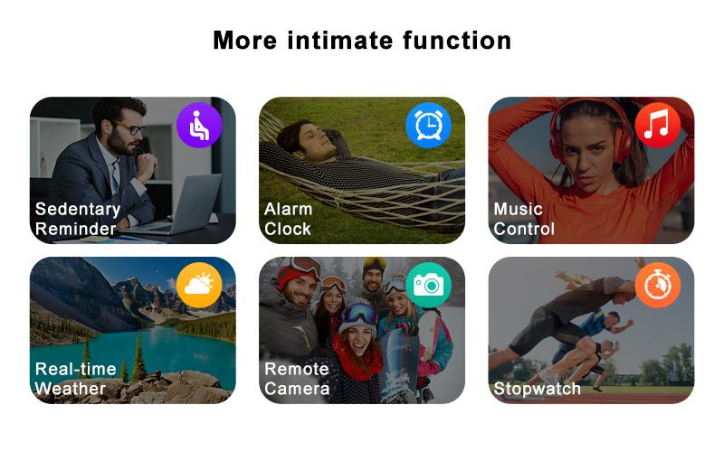 more intimate functions