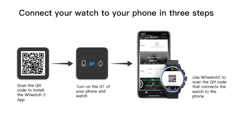 connect smartwatch to the phone