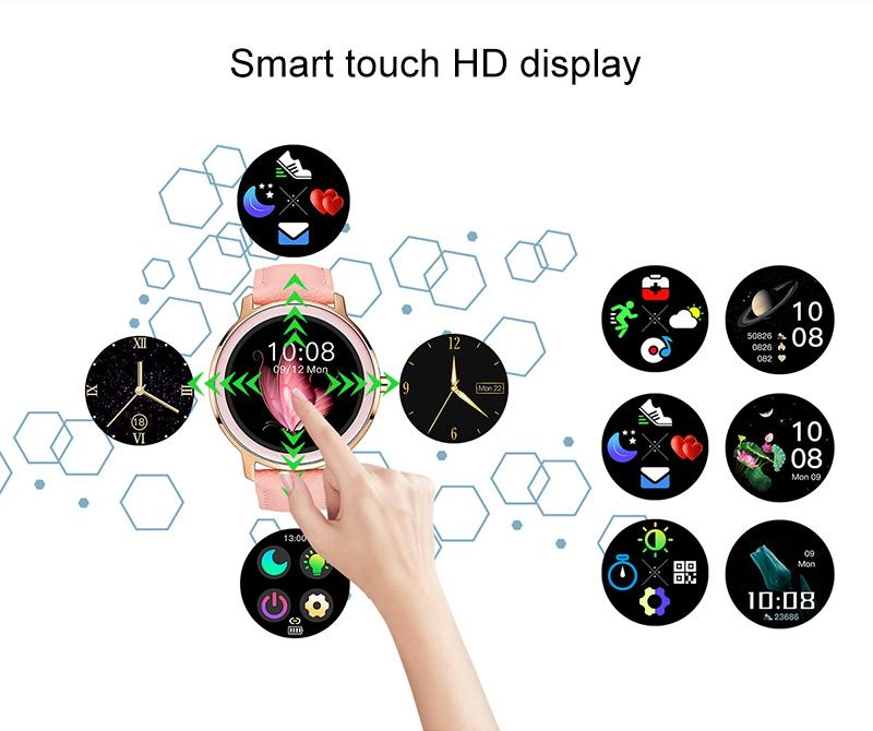 smart touch HD display
