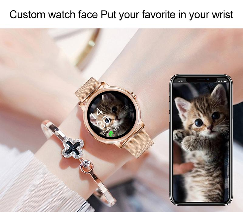 customized watch face