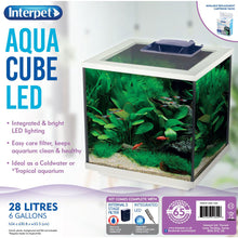 Load image into Gallery viewer, Interpet Aqua Cube LED 28L