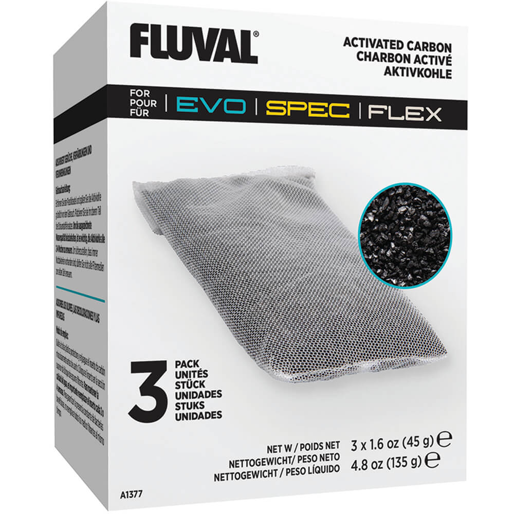 Fluval Evo/Spec/Flex Replacement Carbon