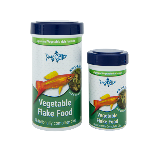 Fish Science Vegetable Flake Food
