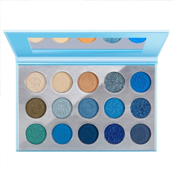 BLUE AURA EYESHADOW PALETTE