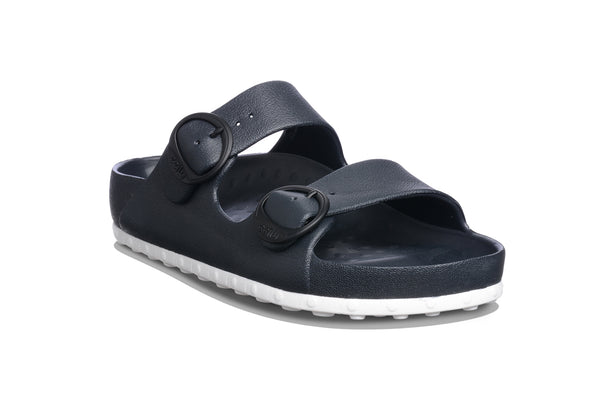 HORIZON CHECK SANDAL W