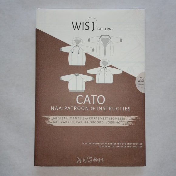 wish patterns cato jas en vest