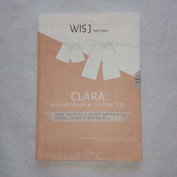 wisj patterns clara culotte en short