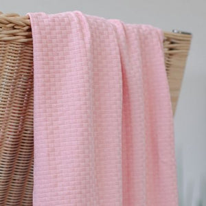 organic wicker knit sweet peach