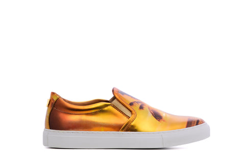 gold sneakers, black sneakers, luxury sneakers, low top sneakers, runners, versace sneakers, vinceo, vinceo brand, vinceo collection, balenciaga sneakers, gucci sneakers, new collection, bahama sunset, bahama, sunset print sneakers