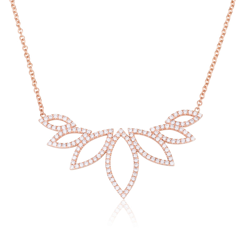 IMPERIAL LARGE MARQUISE NECKLACE