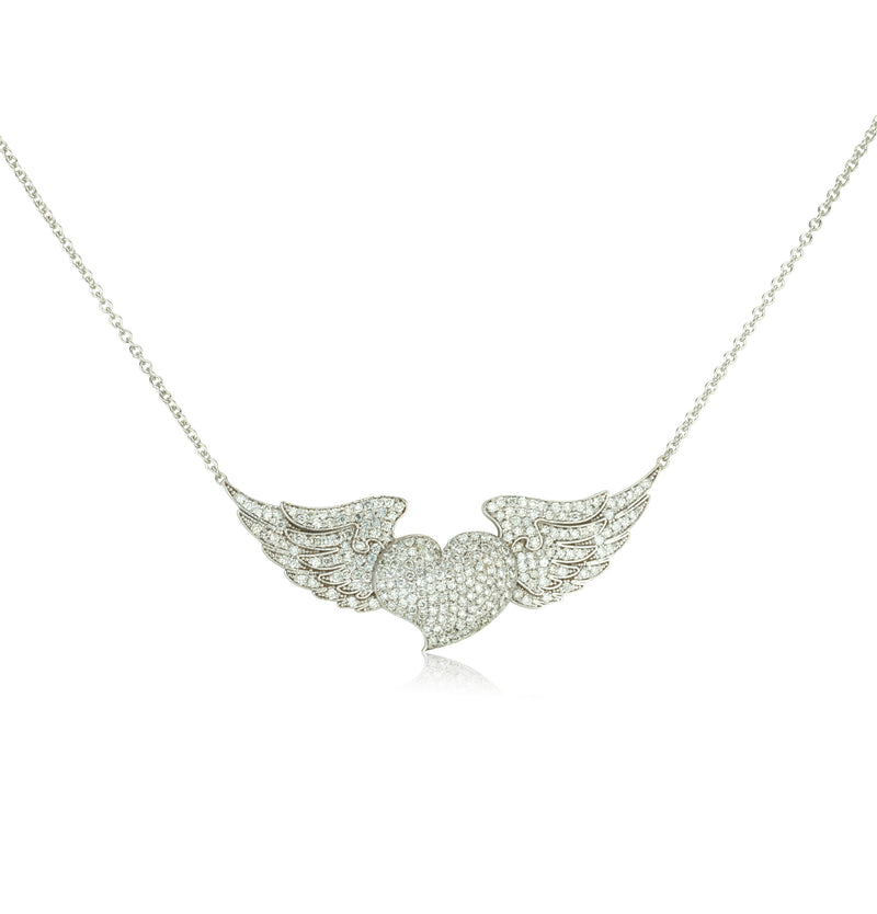 Evita love wings pendant