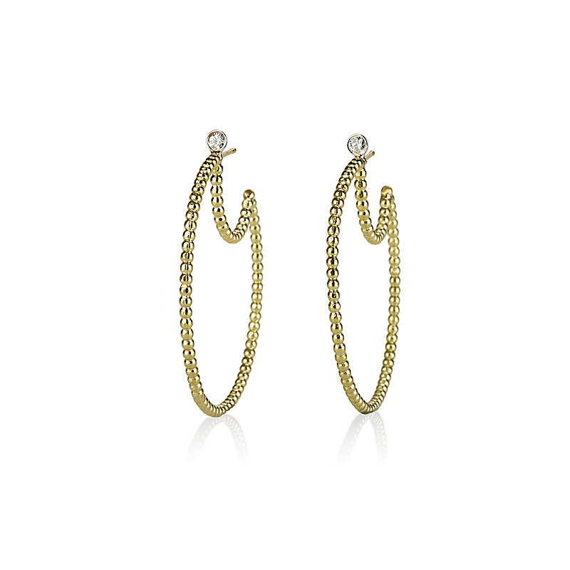 Granles hoop earrings