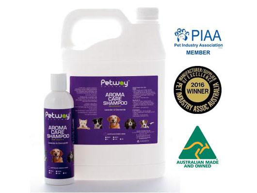 Petway Petcare Aroma Care Shampoo with Vitamin E (250ml/5000ml)