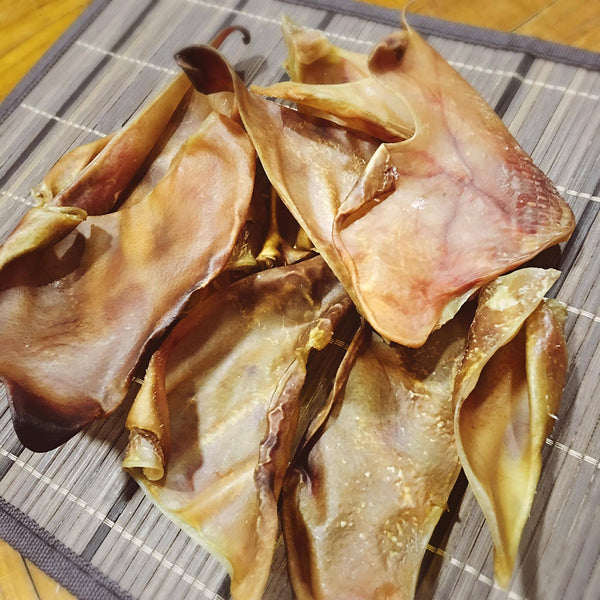 *MOST POPULAR* Dehydrated Pig Ear Chews