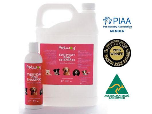 Petway Petcare Pink Shampoo (250ml/5000ml) *BEST SELLER*