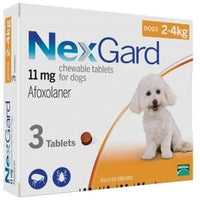 NexGard Chews For Small Dogs (2-4kg)