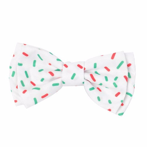 Fuzzyard Speckle Christmas Pet Bow Tie