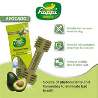 Happi Doggy Avocado Dental Treat