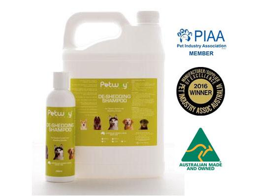 Petway Petcare De-Shedding Shampoo (250ml/5000ml)
