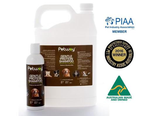 Petway Petcare Gentle Protein Shampoo with Aloe Vera & Baking Soda (250ml/5000ml)