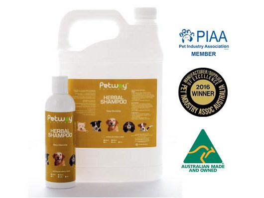 Petway Petcare Herbal Shampoo (250ml/5000ml)