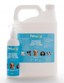 Petway Petcare Powder Cologne Coat Gloss