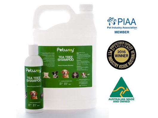Petway Petcare Tea Tree Shampoo (250ml/5000ml)