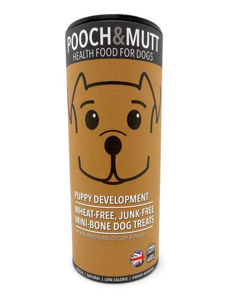 Pooch and mutt puppy development treats