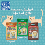 Tofu Cat Litter (7L) Flushable