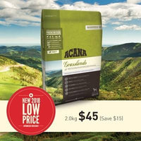 ACANA REGIONAL GRASSLANDS DOG DRY FOOD 2.0KG/6.0KG/11.4KG