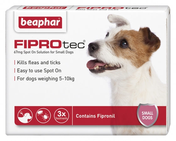 Fiprotec Spot On Small Dog (5-10kg)