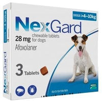 NexGard Chews For Medium Dogs (4-10kg)