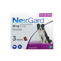 NexGard Chews For Large Dogs (10-25kg)