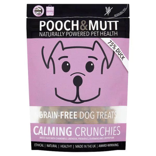 Pooch and Mutt Grain Free Calming Crunchies