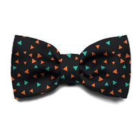 Zee Dog - TRIANGLES DOG BOW TIE