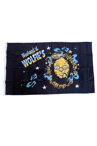 Weekend At Wolfies Flag