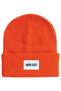 Bumpin Uglies Orange Patch Beanie