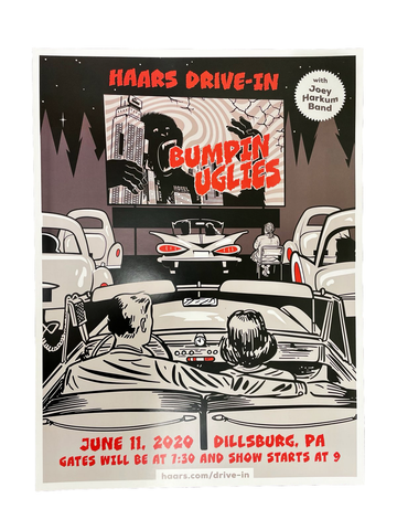 Haars Drive-in Poster - June 11, 2020