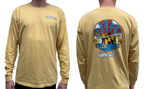 Route One Long Sleeve - Vintage Yellow