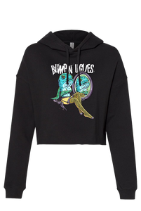 Women's Bumpin Mermaid Crop Hoodie