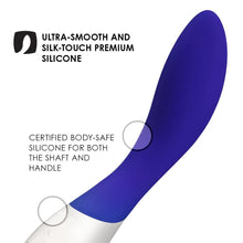 Load image into Gallery viewer, Lelo Mona Wave Midnight Blue Vibrator