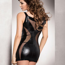 Load image into Gallery viewer, Passion Donata Chemise Black
