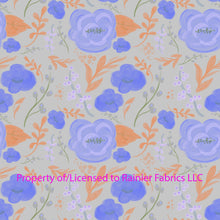 Load image into Gallery viewer, Roses by Seattle Artist Nina - Variations! Order by half yard - See below for instructions on ordering and base fabrics