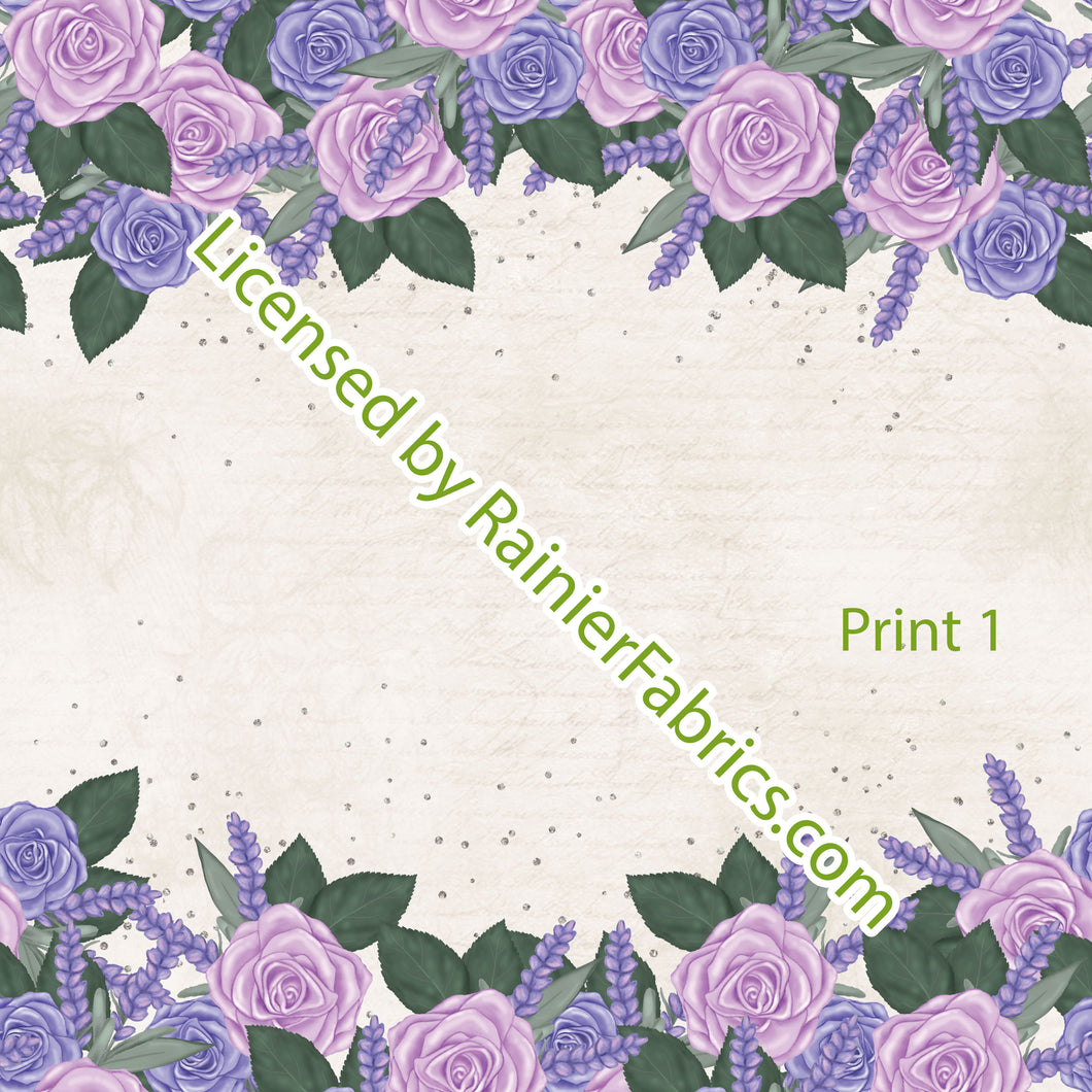 Provence Lavender Collection - Order by half yard -instructions below on base fabrics
