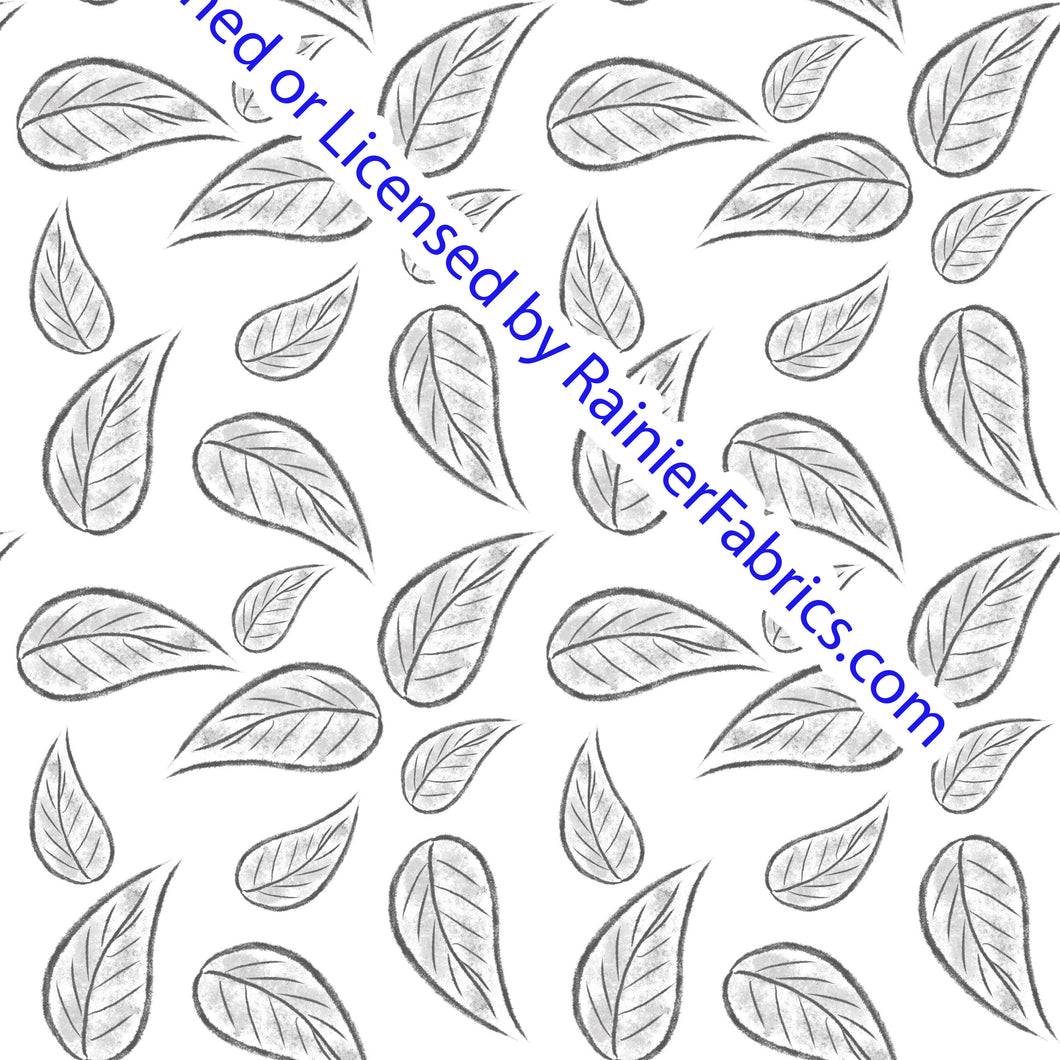 Grey Nature by Nina - Order by half yard -instructions below on base fabrics