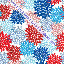 Load image into Gallery viewer, More 4th of July Prints - Order by half yard -instructions below on base fabrics