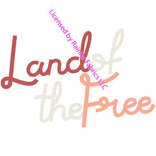 Load image into Gallery viewer, Land of the Free collection by Popologie - Order by 1/2 Yard! See below for instructions on ordering and base fabrics