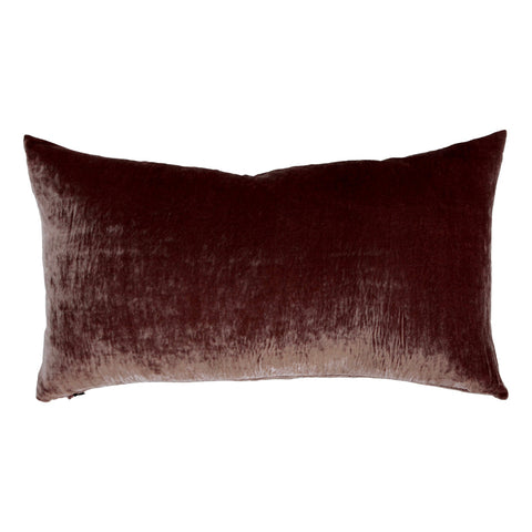 Velvet Pillow - Deep Mauve