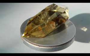 Double Terminated Citrine 31.1g 57.2mm x 25.4mm