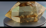 Double Terminated Citrine 38.2g 50mm x 30.5mm